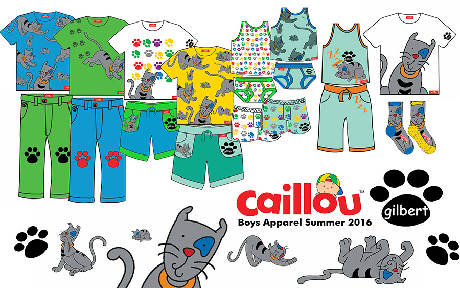 2015 Caillou Softline Boys Gilbert