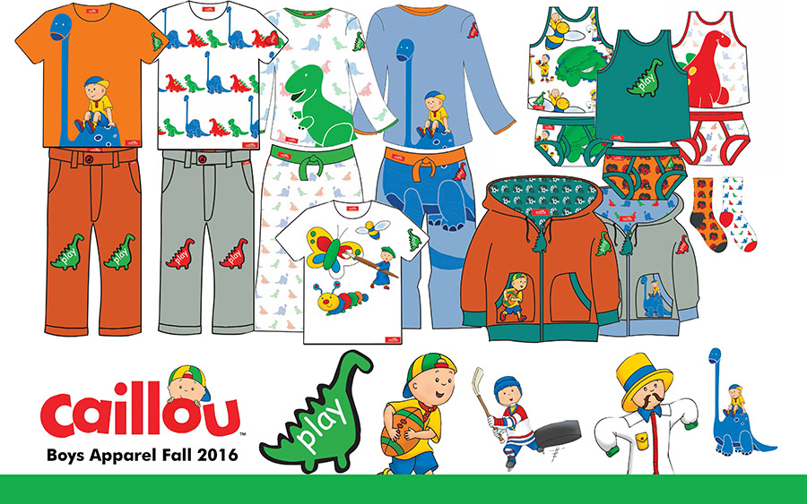 2015 Caillou Softline Play