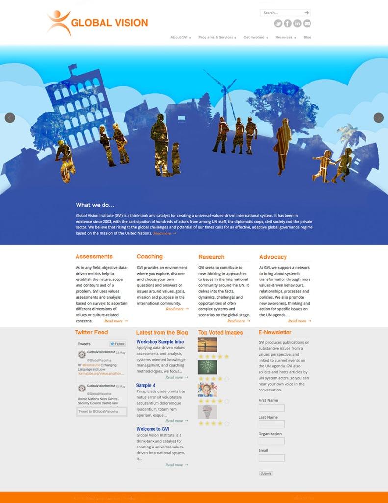 Global Vision Website