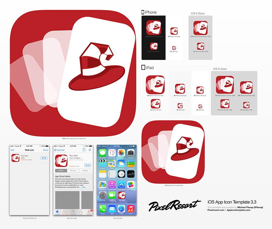 Magnus App Icon Template
