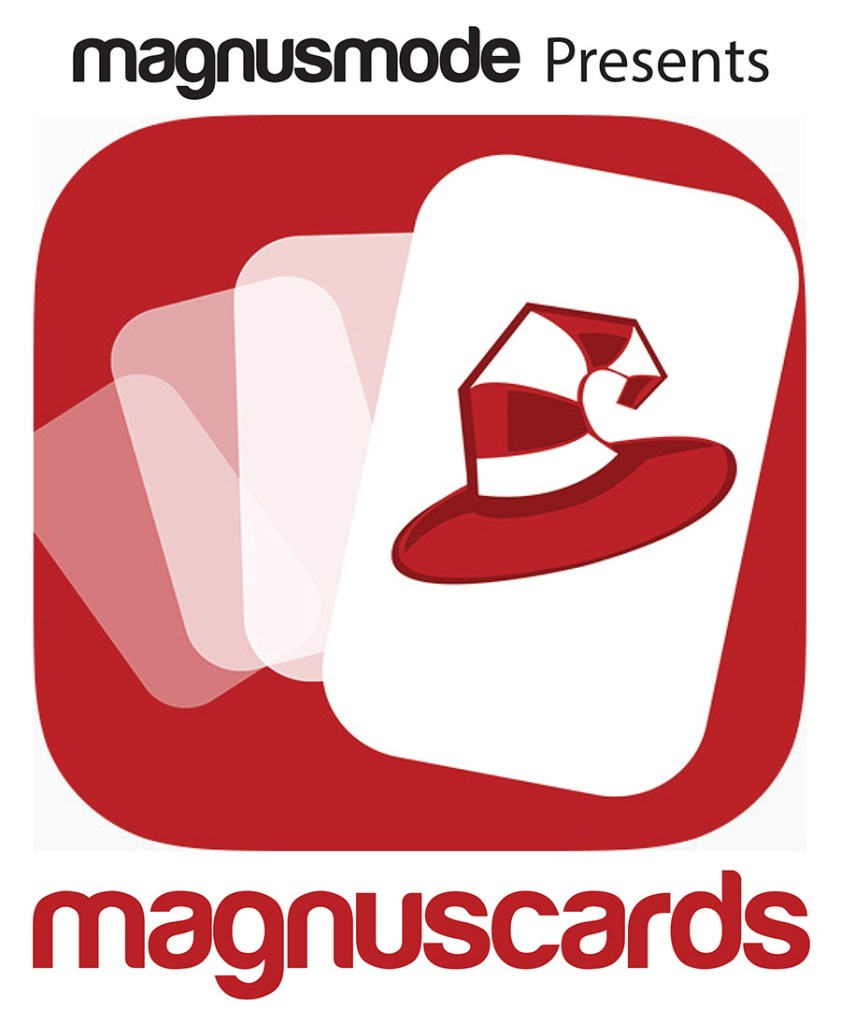 Magnuscards Editable in Illustrator PDF Logo Rounded w Layers